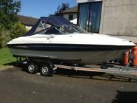 Bayliner 602 Capri Sports Cruiser 2005 With 3 Litre Mercruiser, Twin Axel Trailer