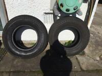 "Heavy duty 14"" Trailer Tyres"