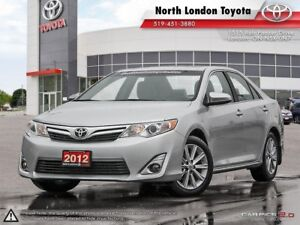 2012 Toyota Camry XLE V6 Powerful V6 makes this XLE feel like...