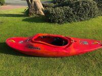 Kayak. Pyranha I:3 river runner. Large