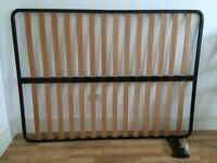Ikea slatted bed base with 6 legs (double bed)