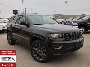 2017 Jeep Grand Cherokee LIMITED 75TH ANNIVERSARY**LEATHER**SUNR