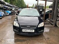 2007 Ford Focus Style 5dr 1.6 Petrol Black BREAKING FOR SPARES