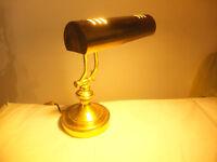 Brass Desk Light / Bankers light