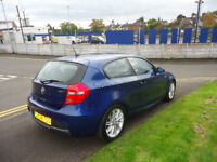 2008 BMW 116I M SPORT 98K MILEAGE £130 YEAR TAX COME WITH 12 MONTHS MOT 2 FORMER OWNERS
