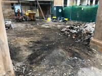 Drainage, digger hire, soil and irrigation groundworks