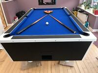 Pool Table 7ft x 4ft fully recovered