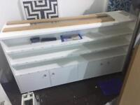 Big cabinet- perfect for in front of heater. FREE
