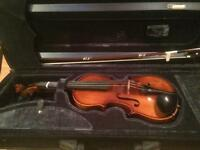 Childs quarter size violin with case