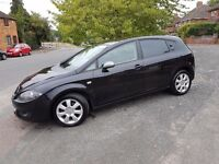 2008 Seat Leon 1.9TDI Stylance 5 Door - Black - Excellent Condition, service history