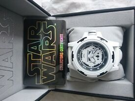 Star Wars Stormtooper collectors watch