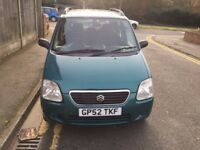 SUZUKI WAGON R + GL FULL AUTOMATIC MOT UNTIL DEC 2017 2 KEYS