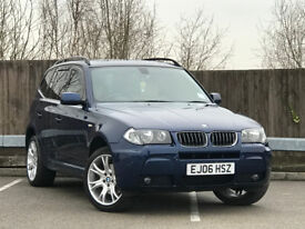 BMW X3 M Sports Automatic 3.0 Diesel 2006 (Full BMW History, Immaculate)