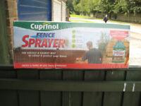 Cuprinol Fence Sprayer - new and unused