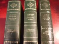 3 x BOOKS BY CHARLES DICKENS - CENTENNIAL EDITION