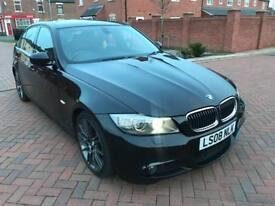2008 LCI BMW 335D M SPORT AUTO SALOON TWIN TURBO DIESEL 109K FSH AND TOP SPEC
