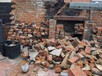 Broken bricks / hardcore