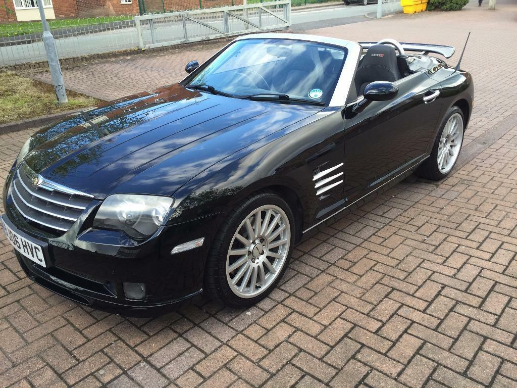 2006 Chrysler Crossfire Srt 6 Auto Black Very Rare In Crewe