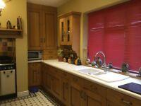 Oak kitchen and some appliances