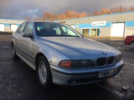 Trade in BMW 523i mot until June great driving saloon