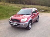Nice little Toyota RAV4 - FAILED MOT
