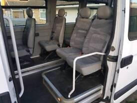 Renault master Vauxhall movano minibus seats
