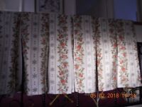 Isabella Porch Awning Curtains with Plastic J Clips For Isabella Porch Awning