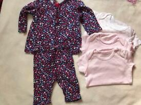 Baby girl clothes 3-6 months
