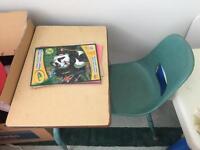 Little kid's school desk