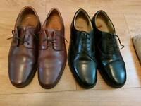 Men's leather Clarks shoes