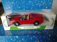 Corgi Ferrari 308 GTS. Die cast model. Rare mobile petrol boxed.
