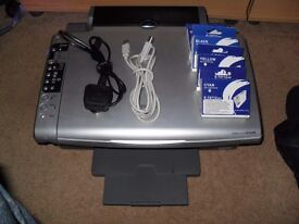 epson stylus DX5000 printer/scanner