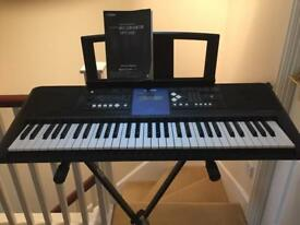 Yamaha E333 keyboard and stand