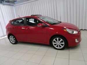 2013 Hyundai Accent 5DR HATCH WITH BLUETOOTH, HEATED SEATS, A/C,