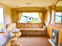 Cheap Starter Caravan At Sandylands On Scotlands West Coast