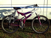 FULL SUSPENSION MOUNTAIN BIKE BEEN SERVICED SO READY TO GO