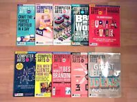 Computer Arts magazines April 2016 - December 2016 £15