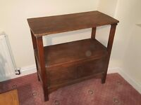 Monks Bench folding table stool