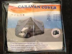 New Caravan Motorhome Cover Breatheable Water Resistant 5.8m- 6.4m 19-21 feet