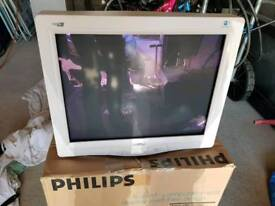 Philips high end 19 inch CRT monitor brand new