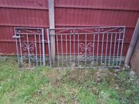 Driveway Gates Steel - Not used any more