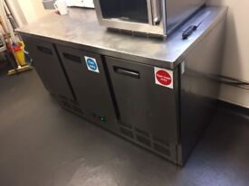 Polar G622 3 Door Refrigerated Counter - Ref 4958