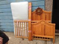 Pine sailor toddler bed