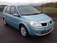 (58) Renault Grand Scenic 1.6 , mot - October 2017 , full service history , 2 owners,zafira,galaxy