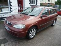 VAUXHALL ASTRA 1.6i 16V CD Auto (red) 2000
