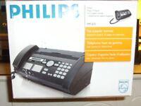 brand new Philips fax machine