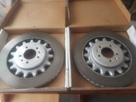 BRAKE DISCS AND PADS 380 MM FOR PEUGEOT 308 GTI THP 270, RCZ R, THP 270