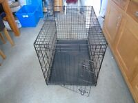 Large puppy cage