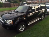NISSAN NAVARA D22 RALLY RAID LIMITED EDITION 2004 ENGINE RECONDITIONED 10 MONTHS MOT