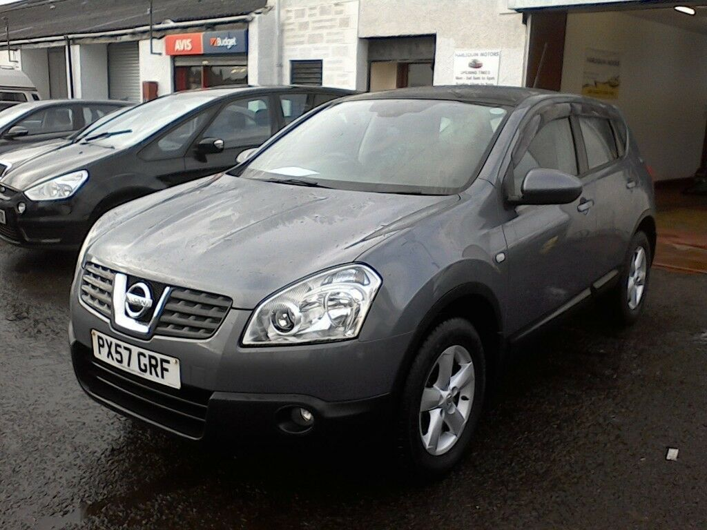 FREE DELIVERY AVAILABLE - 2007 NISSAN QASHQAI 2L DIESEL, 4WD, FSH, 6 SPEED- FREE DELIVERY AVAILABLE